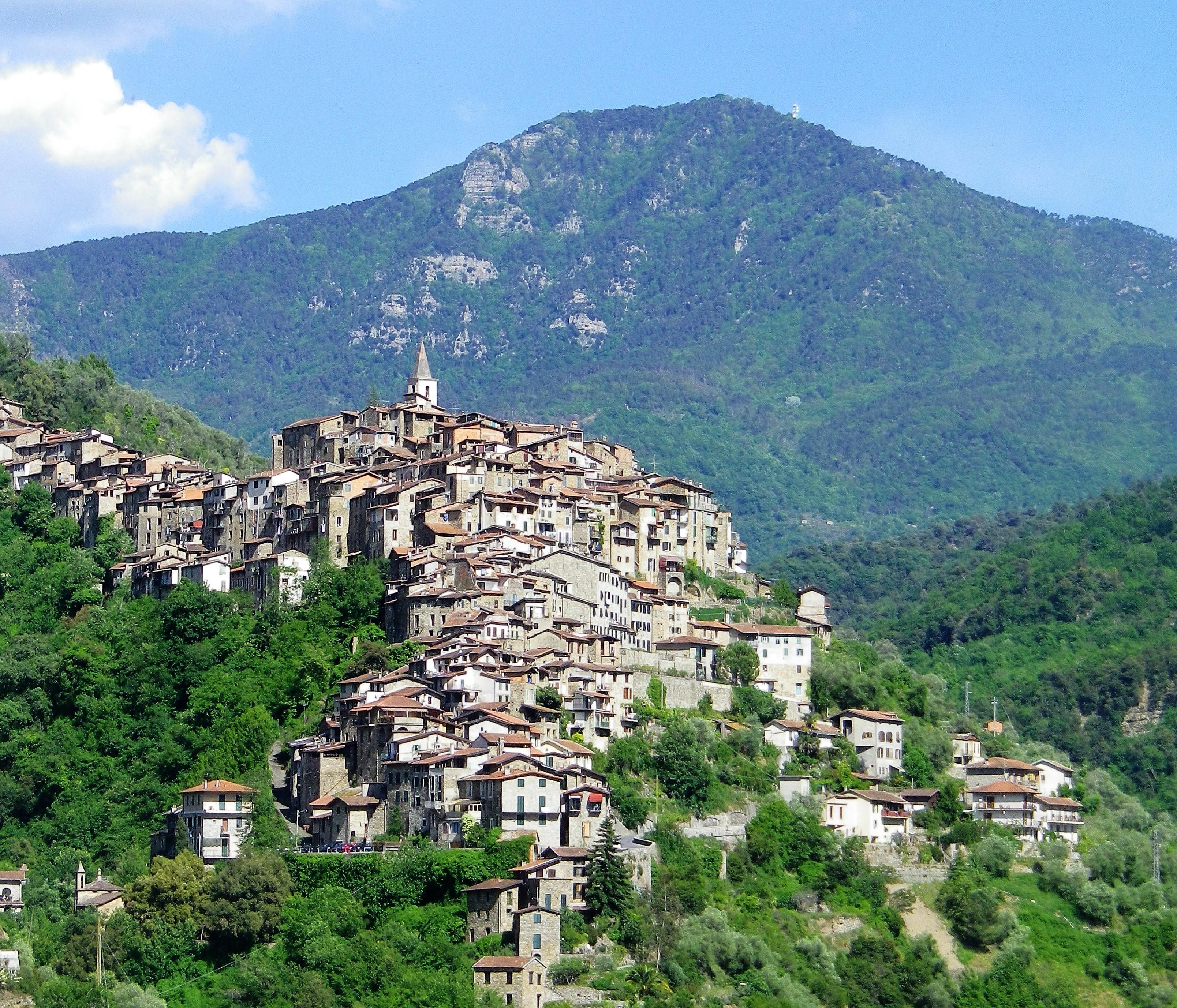 Les villages perchés Ligure