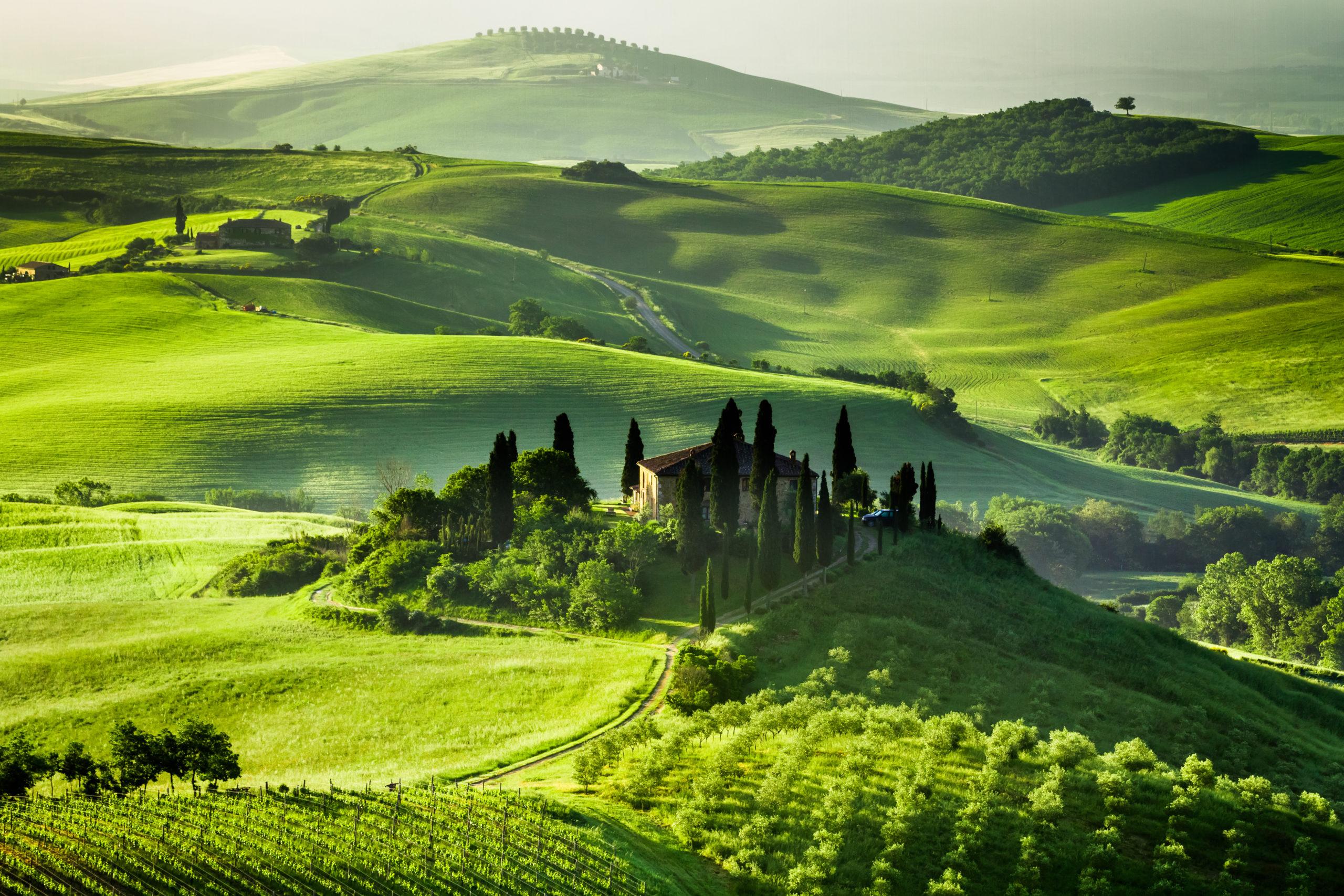 De Sienne à Florence