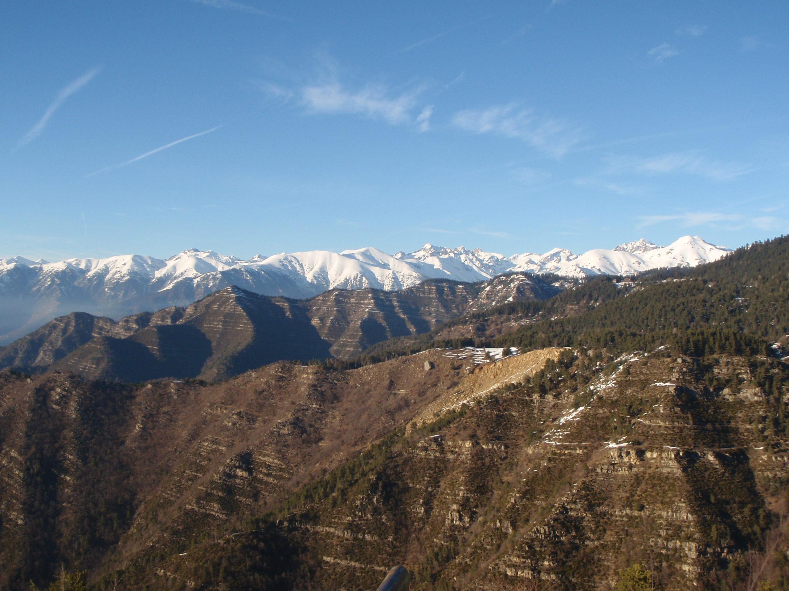 Panorama du Mercantour